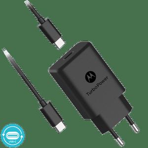 Ładowarka Motorola z technologią szybkiego ładowania TurboPower™ 27 z kablem USB-C do transmisji danych