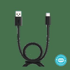 Kabel Motorola USB z możliwością łączenia portów USB-A oraz USB-C o długości 1 metra
